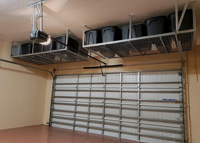 Garage Storage System Solution In, Garage Hanging Storage Solutions